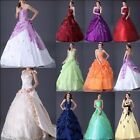 IN Stock Long Prom Wedding/Evening Bridesmaid Gown Dress Size:6 8 10 12 14 16