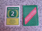 MB GAMES POKEMON MASTER BOARD GAME SPARE RIVAL/ITEM/EVENT CARDS, PLAYING PIECES