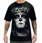 SULLEN MY LOVE SUGAR SKULL BLACK MENS TATTOO TEE SHIRT NEW TAGS S M L XL 2XL 3XL