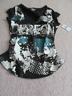 House of Dereon by Beyonce Women's Black Top NWT