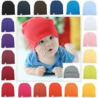 21 Colors Baby Boy Girl Toddler Knitted Knitting Wrap Hats Cuff Caps Beanies