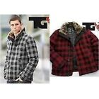 z. TG WINTER LUMBER JACKET Coat Red or Grey Check RRP £45