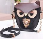 Cute Owl Satchel Messenger Womens Shoulder Bag Girls Handbag CrossBody Purse