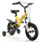 """ROYAL BABY DUAL SUSPENSIONS CHILD KIDS BIKES RED AND YELLOW SIZE 12"""" 14"""" 16"""""""