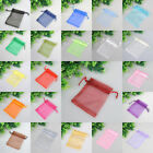 Free Ship18Colors Charms Organza Jewelry Packing Pouch Wedding Favor Gift Bags
