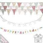 Celebration Bunting Occasion Wedding Streamers Party Flags Banners Garlands