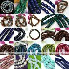 1 Strand Column Rondelle Rectangle Gemstone Loose Beads Jewellery Finding Gift