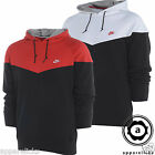 Nike Men's Hooded Sweatshirt Foot Locker Red White Black Hoodie All Sizes 443897