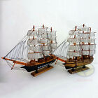"Handbuilt WOOD MODEL 15"" Sailing Boat Tall Ship Sailer Home Nautical decor SZ18"