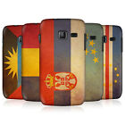 HEAD CASE VINTAGE FLAGS SET 5 SNAP-ON BACK CASE COVER FOR SAMSUNG WAVE Y S5380