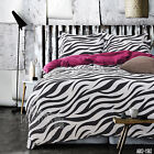 New Striped Single/Double/Queen/King Bed Quilt/Doonna Cover Set 100% Cotton