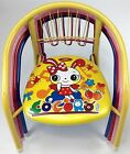 Children Squeaky Chair Metal Frame Various Colour Design Sturdy Kid Home New