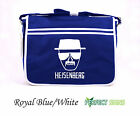 BREAKING BAD HEISENBERG WALTER WHITE DESIGN Messenger Bag - Blue