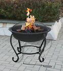SALTILLO Fire Pit, Coffee Table, Outdoor Patio Heating, Garden Heater BBQ, COVER