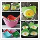 2/4Pcs Silicone Egg Poacher Cook Poach Pods Kitchen Cookware Poached Baking Cup