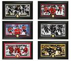 Choose Your NHL Hockey Player 12 x 20 Minted Medallion Coin Panoramic Photo Mint