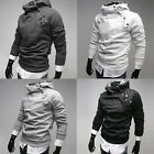 New stock Mens Slim Fit Sexy Top Designed Casual Hoody Coat Jacket S M L XL PJ