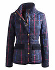 Joules Mordale Check Quilted Jacket (Navy Check)  **NEW**