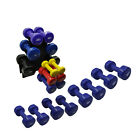 PVC DUMBELLS 1KG - 2KG - 3KG - 4KG - 5KG - 6KG & DUMBBELL WEIGHT SET - RACK