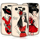 HEAD CASE FASHION ILLUSTRATIONS SERIES 2 BACK CASE FOR BLACKBERRY BOLD 9700 9780