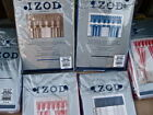 IZOD Valance: Navy Blue Schooner or Tan Paradise Sand MSRP $70.00 NEW