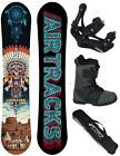 SNOWBOARD SET AIRTRACKS NEON THUNDER+BINDUNG+BOOTS+BAG+PAD /150 155 158cm/ NEU