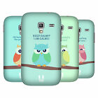 HEAD CASE DESIGNS MEAN OWLS BACK CASE FOR SAMSUNG GALAXY ACE PLUS S7500
