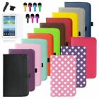 For Samsung Galaxy Tab 3 7.0 SM-T210R 7 inch Tablet Rotating Leather Case Cover
