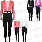 Womens Contrast Long Sleeves All In One Party Piece Gold Plated Ladies Jumpsuit