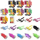Wallet Leather Case Card Slot+Cord+DC Charger+SP For Samsung Galaxy Note 3 N9000