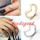 Fashion V Chevron Stacking Little Finger Tail Midi Women Ring Above Knuckle Punk