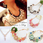 Fashion Womens Bib Statement Vintage Necklace Chain Jewelry Chunky Collar Party