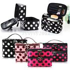 New Womens Portable Dot Beauty Hand Case Makeup Cosmetic Toiletry Bag Organizer