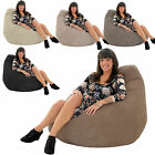 JUMBO CORDUROY Gamer Chair Bean Bag Highback Gaming Beanbag Seat lounger Gilda