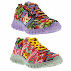 TigerBear Republik Wolfstar Shoes Womens Vegan Canvas Trainers Sizes UK 3 - 5
