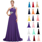 Beading+ Formal Long Prom Dress Wedding Bridesmaid Evening Grad Dress Plus Size