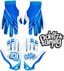 Deft Family Motocross MX Gloves Artisan Proper Blue White All Sizes bmx mtb bike