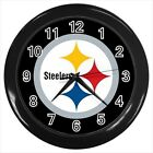Pittsburgh Steelers Football - Wall Clock (Choose from 7 Colors) - HH5171