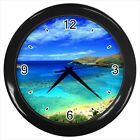 Paradise Beach Scenery - Wall Clock (Choose from 7 Colors) -HH4743