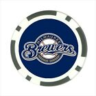Milwaukee Brewers - Poker Chip Guard / Golf Ball Marker - FG5145