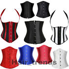 Vintage Hot Sexy Lace up boned corset TOP waist bustier dress Buckle Front 6-24