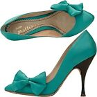 John Galliano decolletè raso fiocco, bow satin pumps