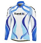 New Mens Cycling Bike Bicycle Winter Fleece Thermal Long Sleeve Jersey Coat
