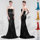 Empire Waist Lady Formal Strapless Long Evening Ball Gown Party Prom Maxi Dress
