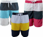 Mens Boys Swimming Short Sports Beach Casual Trunks Cargo Summer Holiday 3stripe