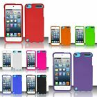 For iPod Touch Rubberized Hard Cover Case