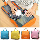 New Cosmetic Case Makeup Bag Zipper Organizer Trip Pouch Toiletry Hanging Case