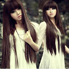 Sexy Korean Womens Fashion Party Cosplay Wigs Full Long Straight Hair Wig New