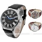 Sewor 44mm Mens Blue Hand Mechanical Automatic Wrist Watch,PU Leather