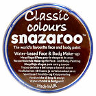 Snazaroo 18ml DARK BROWN FACE PAINT Fancy Dress Party Stage MakeUp